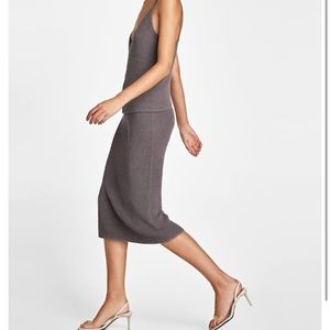 Zara knitwear skirt